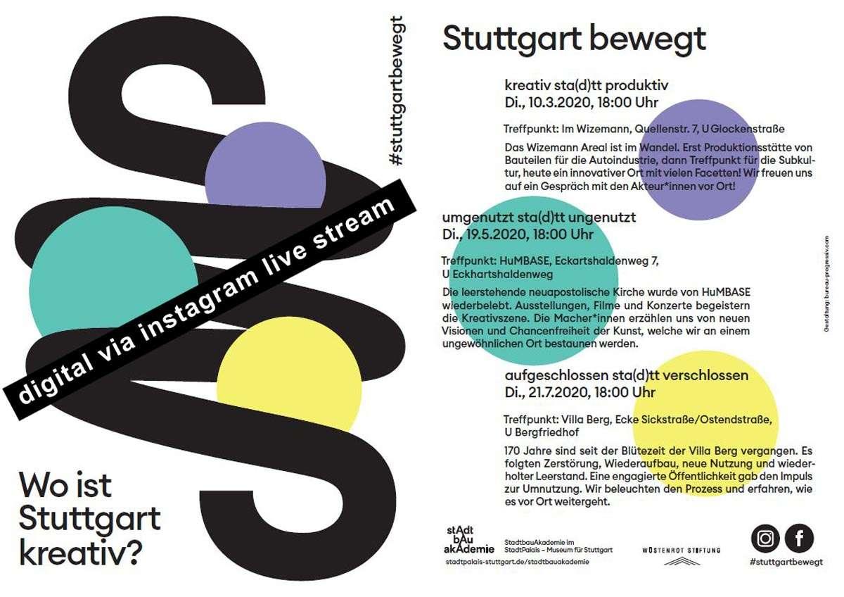 Stuttgart bewegt - Kreativ digitaö
